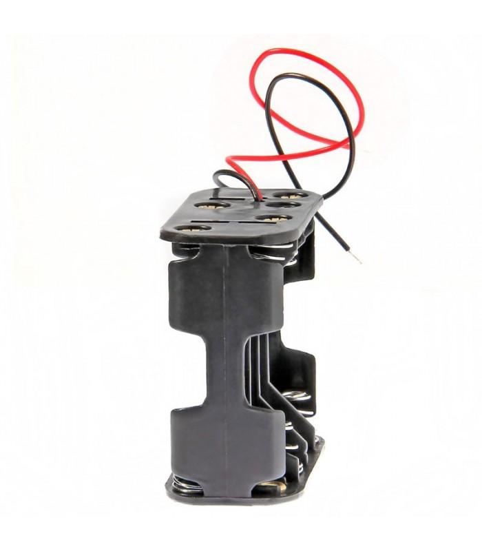 Adattatore 8 x AA-Porta batterie in serie