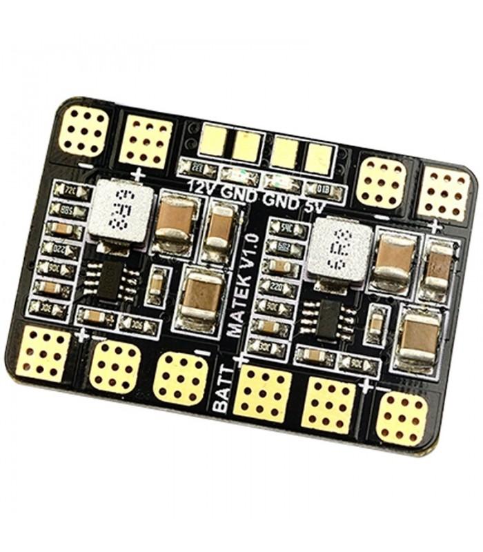 Matek - Micro Power Distribution Board - Doppio BEC 5V -12V - Scheda di distribuzione