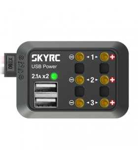 SkyRc Power Distributor-Dual USB 5V 2.1A
