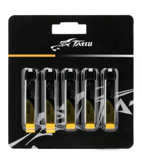5x Tattu 220mAh 3.7V 45C 1S1P Lipo Battery-Tiny Whoop-EFLITE-Nano CPX