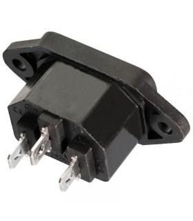 Connettore da incasso - Socket IEC320 C14- AC220V 10A