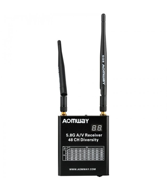 AOMWAY DIV006 - 5.8GHz 48CH RaceBand Diversity Receiver FPV