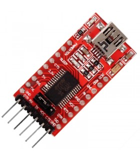 FT232RL-FTDI-Adattatore TTL Seriale USB-Convertitore UART-3,3V-5V
