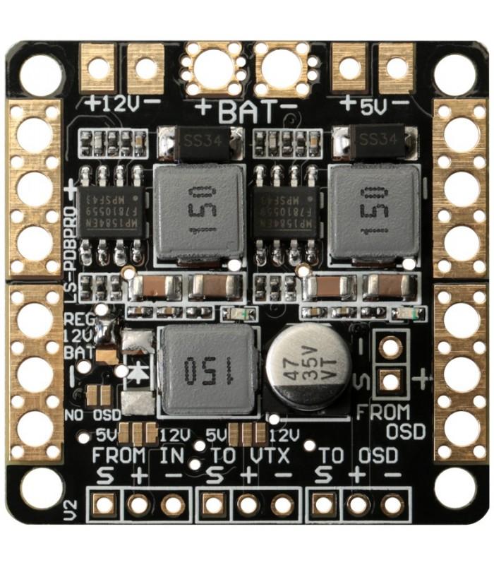 Power Distribution Board - Dual BEC 5-12VDC - Supporto VTX e Filtro LC integrato - Scheda di distribuzione
