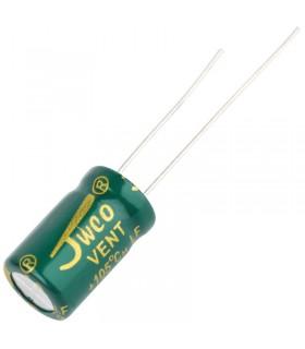 Condensatore Elettrolitico 25V 470uF - Alta Frequenza-105°