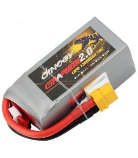 Dinogy Graphene 4S 1300mAh 70C - LiPo Battery