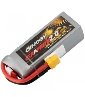 Dinogy Graphene 4S 1500mAh 70C - LiPo Battery