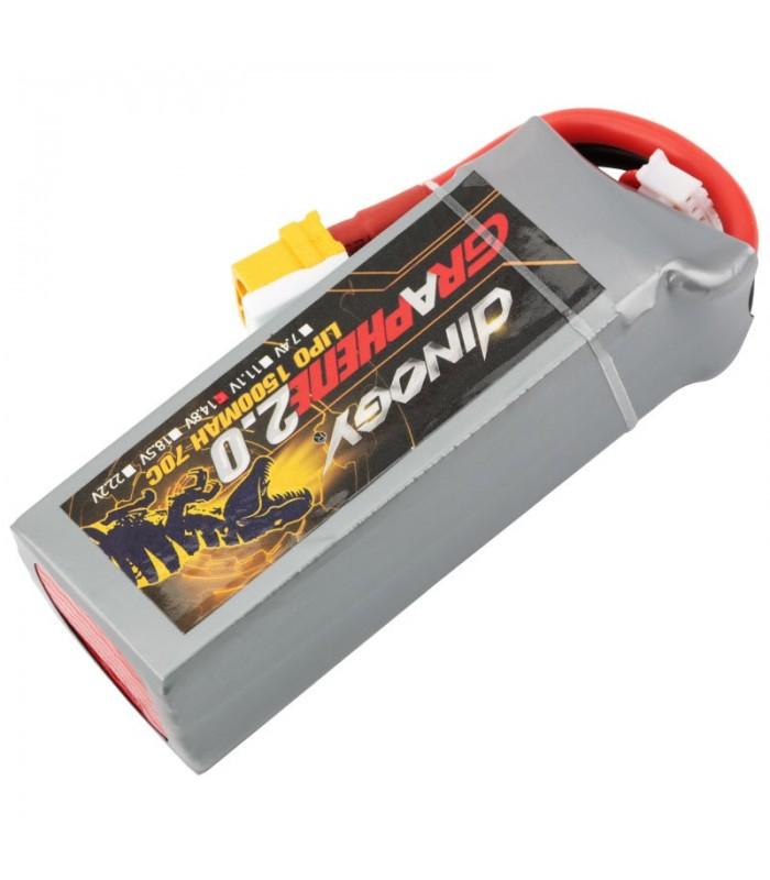 Dinogy Graphene 4S 1500mAh 70C - LiPo Battery