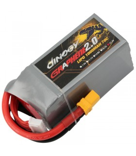Dinogy Graphene 6S 1000mAh 70C - LiPo Battery