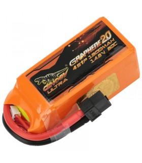 Dinogy Ultra Graphene 4S 1300mAh 80C - LiPo Battery