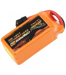 Dinogy Ultra Graphene 4S 1300mAh 80C - LiPo Battery