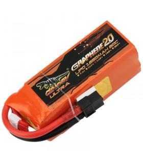 Dinogy Ultra Graphene 4S 1850mAh 80C - LiPo Battery