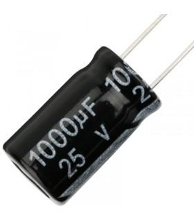 Sanyo Condensatore Elettrolitico 25V 1000uF - Alta Frequenza-105°