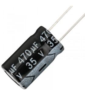 35V 470uF - Condensatore Elettrolitico - Alta Frequenza-105°