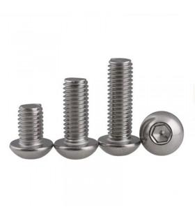 M3 Hex - Viti in acciaio inox - Lunghezza variabile - 10 pezzi