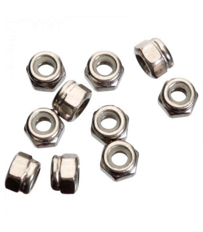M3 Dadi autobloccanti - acciaio inox - 10 pezzi