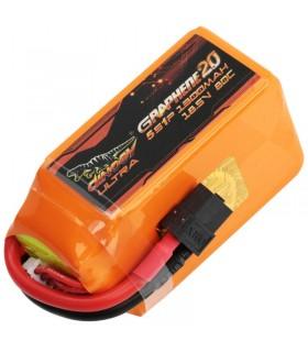 Dinogy Ultra Graphene 5S 1300mAh 80C - LiPo Battery