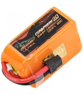 Dinogy Ultra Graphene 5S 1500mAh 80C - LiPo Battery