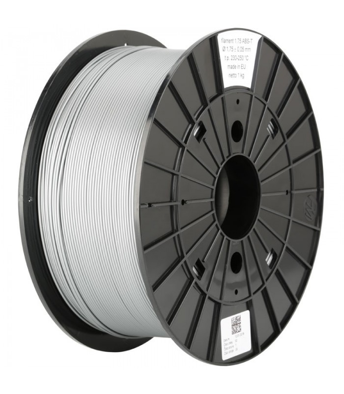 Silver Easy ABS Original PRUSA Filament-1Kg-1,75mm