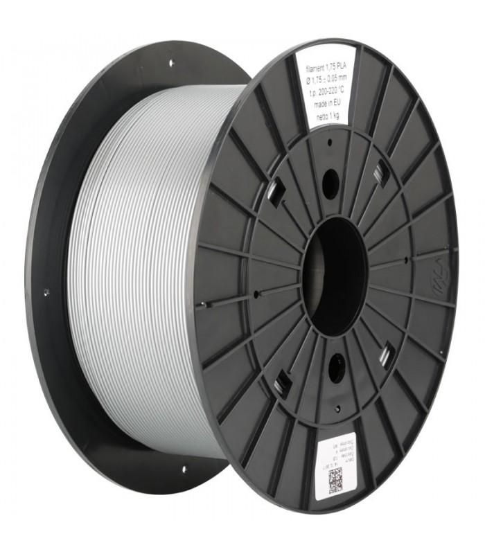 Silver PLA 3D Original PRUSA Filament-1Kg-1,75mm