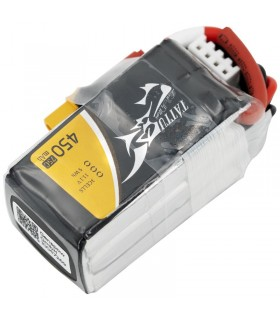 Tattu 450mAh 75C 3S1P 11.1V Lipo Battery Pack