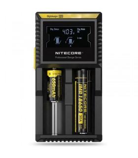 Nitecore D2 DigiCharger - Caricabatteria Universale