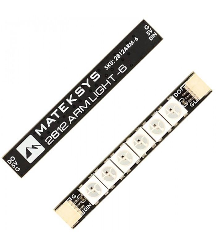 Matek 2812 ARM Light 6 LED - FPV RGB LED