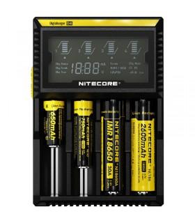 Nitecore D4 DigiCharger - Caricabatteria Universale