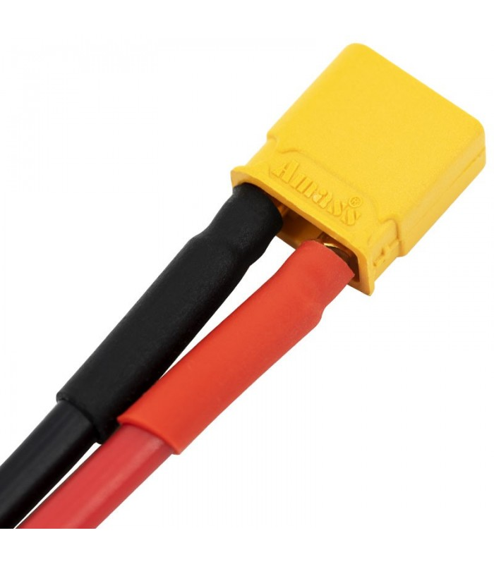AMASS XT30-AWG 16-Connettore maschio-cavo in silicone AWG 16-10cm