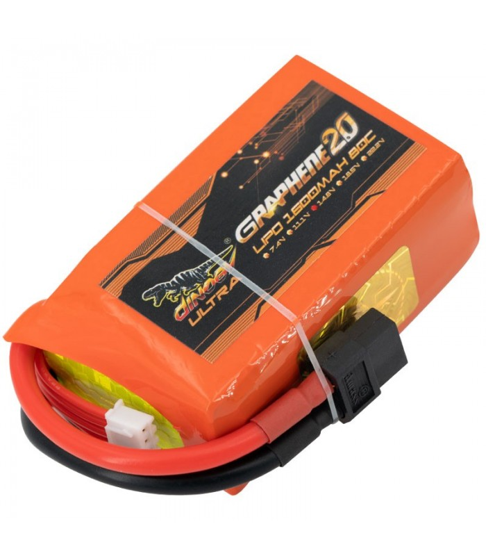 Dinogy Ultra Graphene 4S 1600mAh 80C - LiPo Battery
