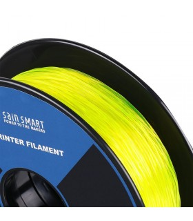 Sain Smart TPU Giallo - Flexible Filament 1.75mm 0.8kg/1.76lb
