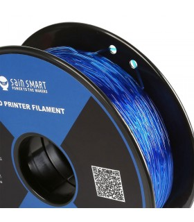 Sain Smart TPU Blu - Flexible Filament 1.75mm 0.8kg/1.76lb