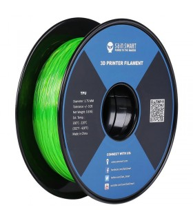 Sain Smart TPU Verde - Flexible Filament 1.75mm 0.8kg/1.76lb