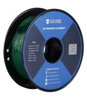 Sain Smart TPU Emerald - Flexible Filament 1.75mm 0.8kg/1.76lb