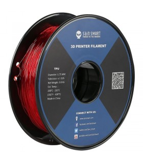 Sain Smart TPU Rosso - Flexible Filament 1.75mm 0.8kg/1.76lb