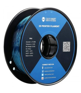 Sain Smart TPU Teal - Flexible Filament 1.75mm 0.8kg/1.76lb