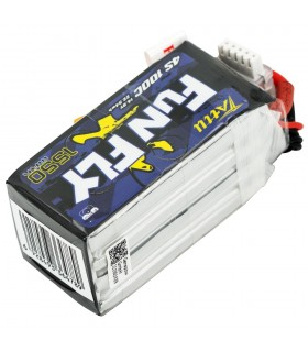 Tattu FunFly 1550mAh 100C-4S1P-14.8V Lipo Battery Pack