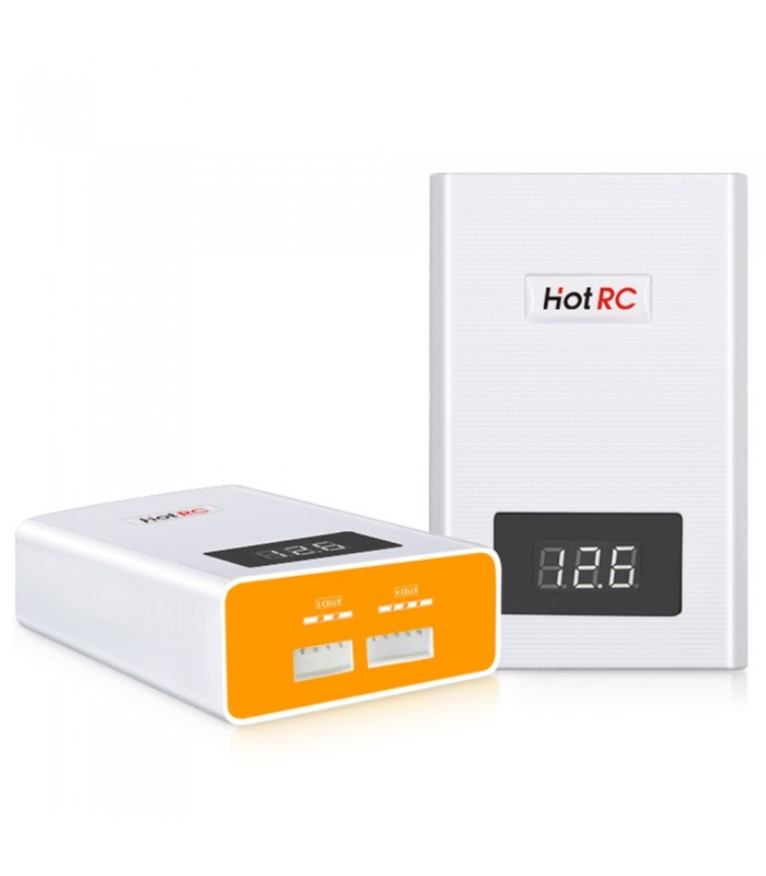 HOTRC A400 Balance Charger - 40W 3S-4S - Carica Batterie LiPo