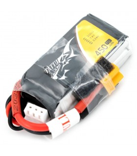 Tattu 450mAh 75C 2S1P 7.4V - XT30 - Lipo Battery