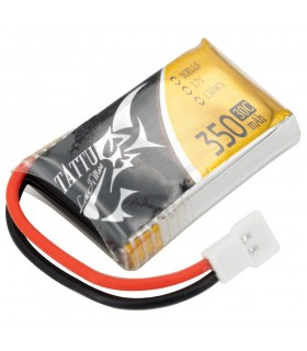 Tattu 350mAh 30C 1S1P 3.7V - MOLEX - Lipo Battery