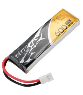 Tattu 600mAh 30C 1S1P 3.7V - MOLEX - Lipo Battery