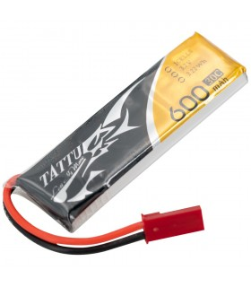 Tattu 600mAh 30C 1S1P 3.7V - JST - Lipo Battery