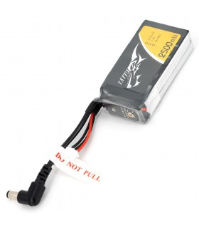 Tattu 2500mAh 2S 7.4V - DC3.5mm Fatshark Goggles LiPo Battery