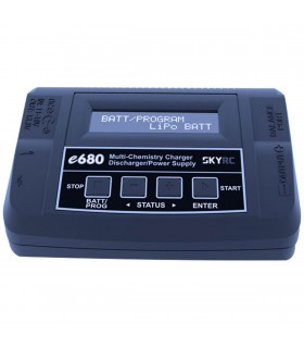 SkyRC e680 - Balance Charger - Carica Batterie 80W