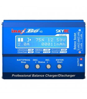 SkyRC iMAX B6 V2 - Balance Charger - Carica Batterie 60W