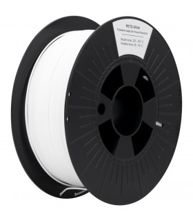 White PETG 3D Original PRUSA Filament-1Kg-1,75mm