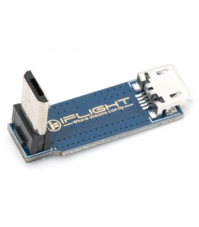 iFlight - Connettore MicroUSB 90° - Femmina-Maschio