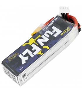 4S-1800mAh-100C - Tattu FunFly Lipo Battery Pack - 14.8V-XT60
