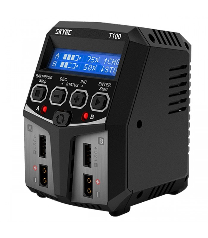SkyRC T100 DUAL Balance Charger - Carica Batterie