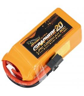 6S-1000mAh-80C - Dinogy Ultra Graphene - Batteria LiPo